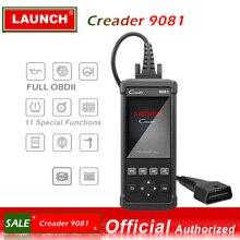 Запуск OBDII сканер Creader 9081 код читателя сканер с воздушной сумкой система управления батареей сброс CR9081 OBD 2 диагностический