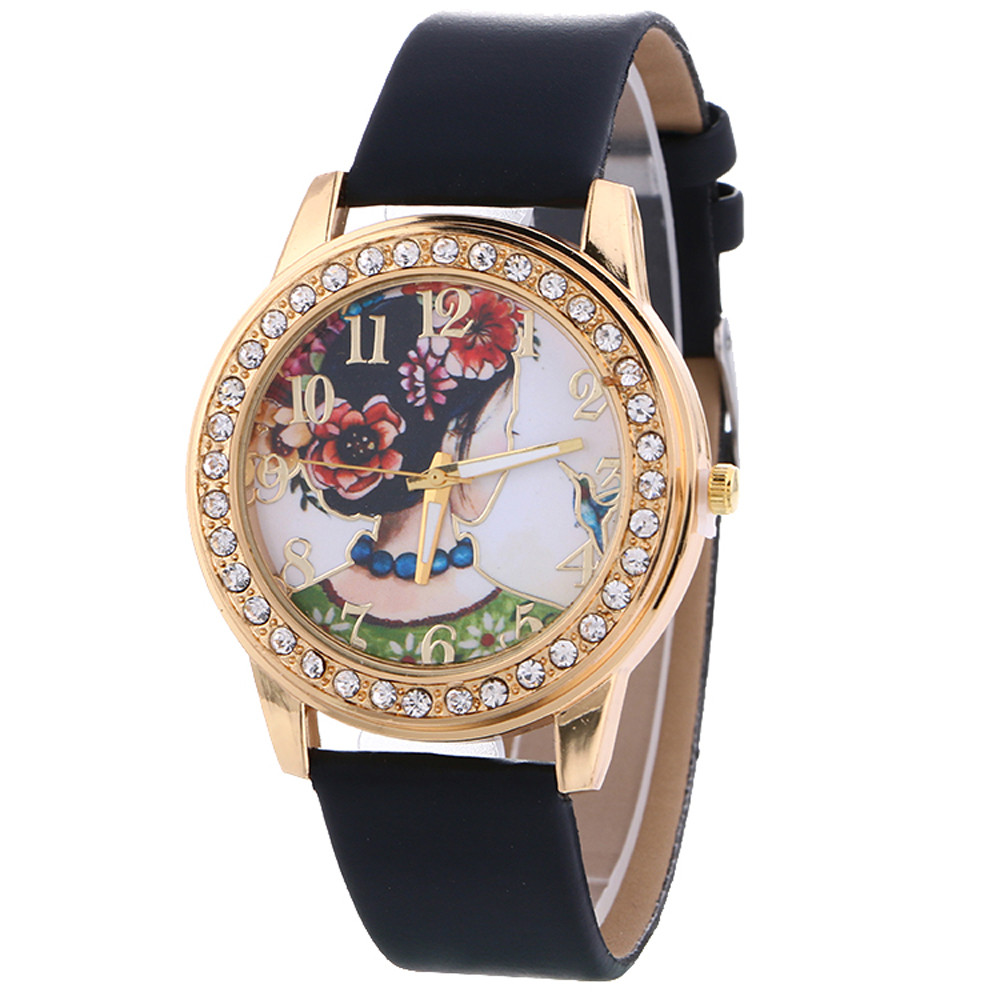 malloom new vintage leather women watches 2018 luxury top. Black Bedroom Furniture Sets. Home Design Ideas