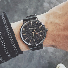 Fashion Watch Men 2019 Minimalist Style Starry Sky For Mens Magnet Mesh Quartz Wristwatches Ulzzang Relogio Feminino xfcs