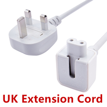 UK Plug 1.8M AC Cord for iPad Power UK Extension Cable for MacBook Mag 45w 60w 85w 29w 61w 87w Charger Adapter Cable