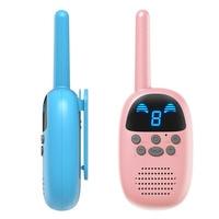 1 Pair Walkie Talkie Children Interphone Educational Games Handheld Toy Radio Kids Gift @ZJF