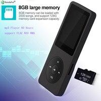 8 GB Mini MP3 Lecteur de Musique Pour Les Sports de Course Avec LCD Couleur Affichage Long Enregistrement FM Fonction Super mp3 wav