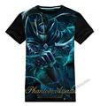 New Desighn 3D DOTA 2 Hero Tee Phantom Assassin Black T-shirts