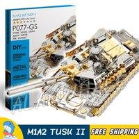 Новый P077GS M1A2 Sep Tusk II модель здания головоломки игрушка набор