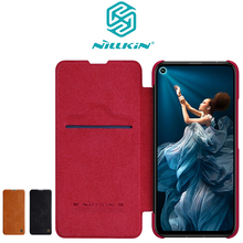 Huawei Honor 20 Case Honor 20 Pro Cover Nillkin QIN flip cover Card Pocket Leather case for Huawei Honor 20 honor 20 pro honor 20 flip case nillkin qin flip leather cover for huawei honor 20 pro case wallet phone case with card pocket
