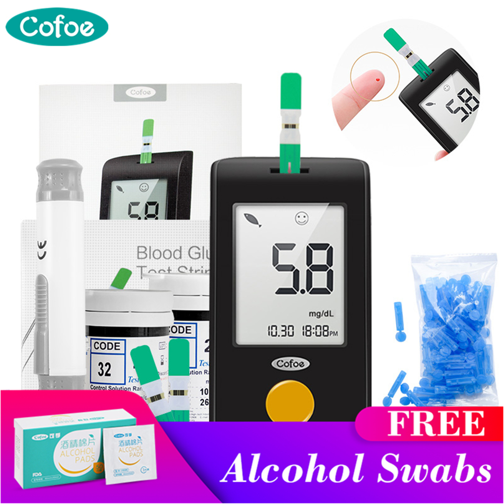 Глюкометр крови Cofoe Yili 50/100 шт тест-полоски глюкозы - купить