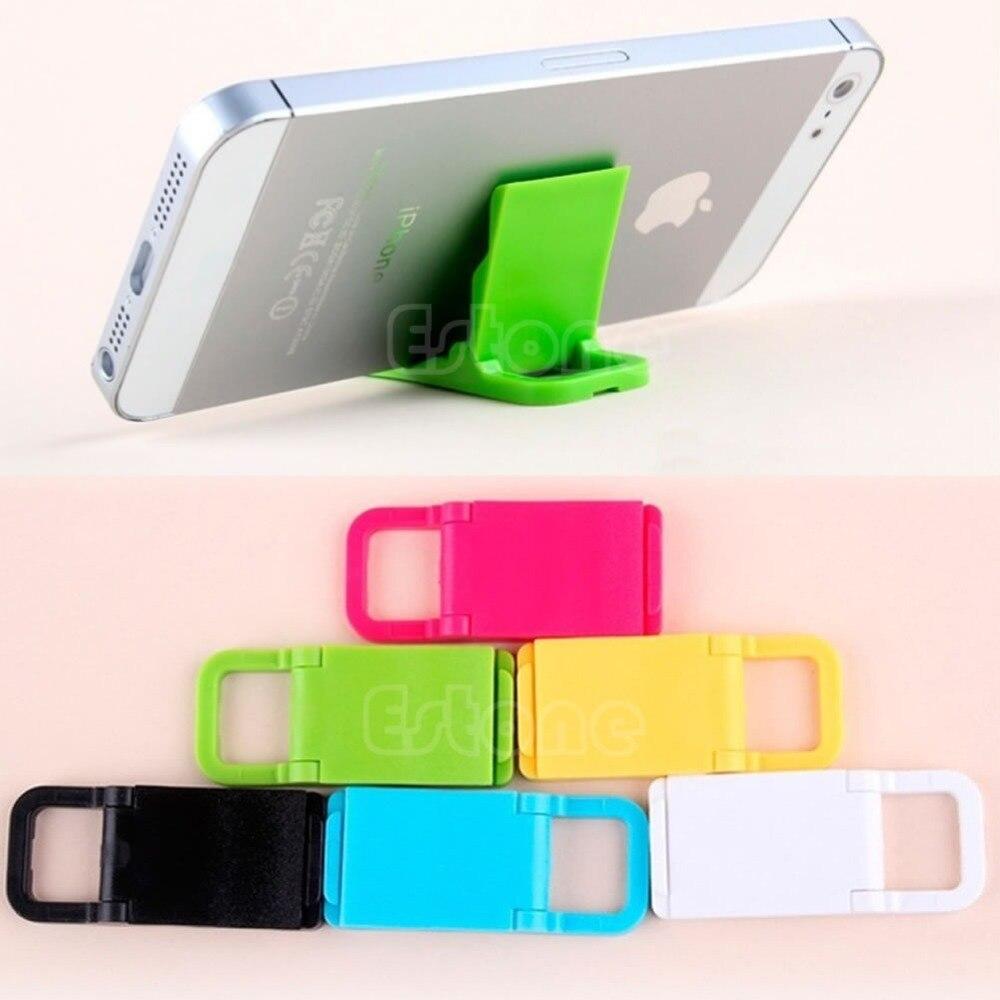 Ehrgeizig Universal Mini Faltbare Handy Ständer Halter Für Iphone 5/4 Samsung Htc Weder Zu Hart Noch Zu Weich Videospiele