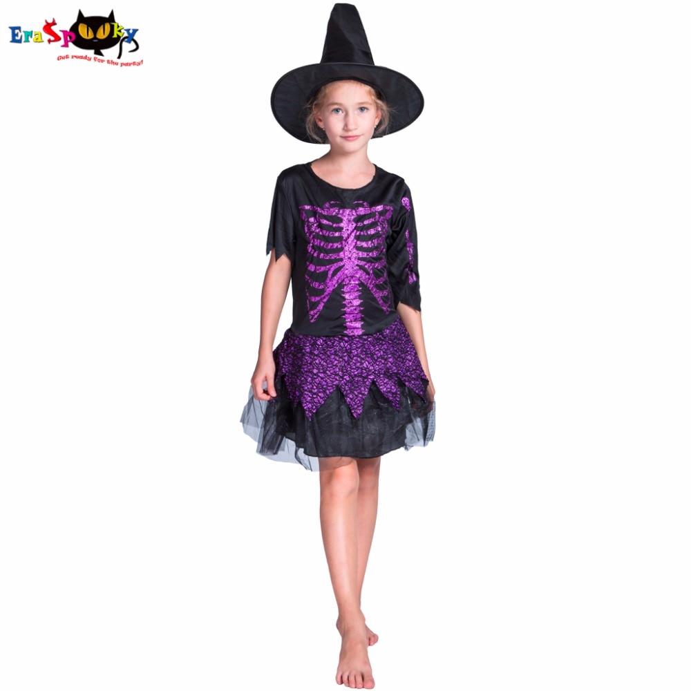 Witch Cosplay კოსტუმი გოგონა - საკარნავალო კოსტიუმები
