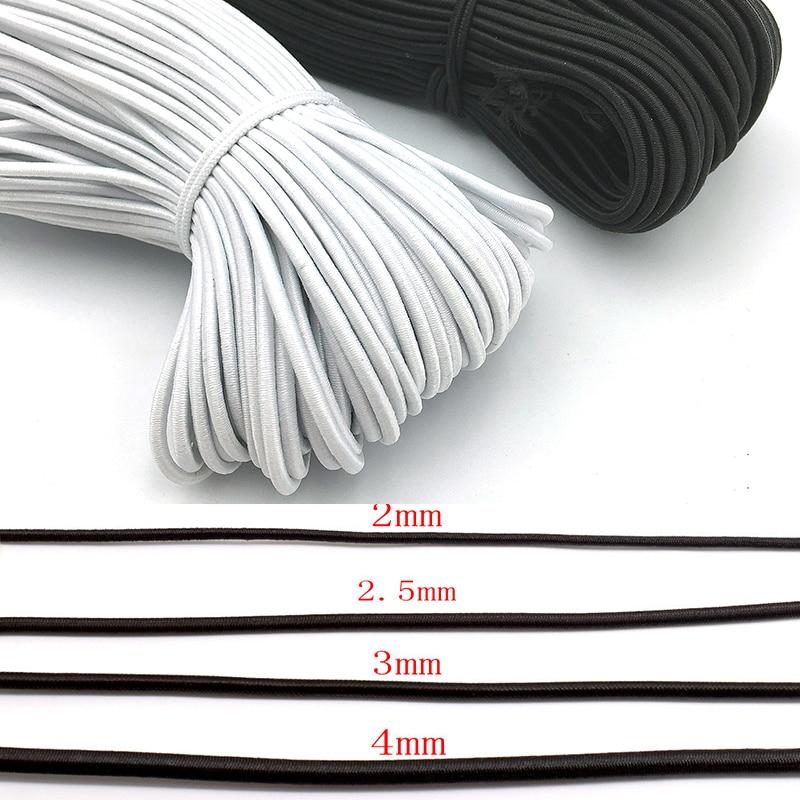 Прочный эластичный шнур 2/2, 5/3/4/5/6 мм, эластичный шнур-растяжка для изготовления ювелирных изделий своими руками