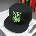 Новая Мода Шляпа Snapback Бейсболка Неймар Плоским Полями Черные Шляпы, Бейсболки Мужчины Женщины Хип-Хоп casquette BA061