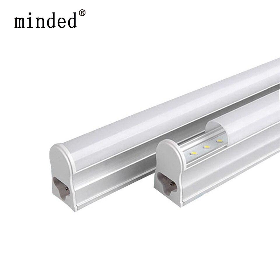 220/240V T5 LED צינור מנורת קיר קר/חם לבן ניאון T5 משולב אור LED צינור 30cm 6W 60cm 10W 24/48pcs נוריות צינור מנורה