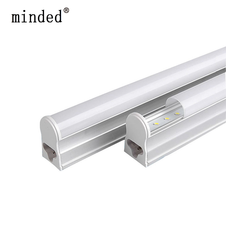 220/240V T5 LED Tube Wall Lamp Cold/Warm White Fluorescent T5 Integrated Light LED Tube 30cm 6W 60cm 10W 24/48pcs Leds Tube Lamp energy savingt8 60cm led 10w fluorescent 40w equivalent tube replacement fluorescent lamp fixture no ballast no uv