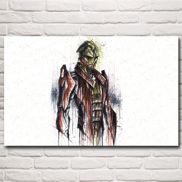 Mass Effect 2 3 4 Shooting Action Game Art Silk Poster Pictures Bedroom Room Decor 12×19 15×24 19×30 22×35 Inches Free Shipping