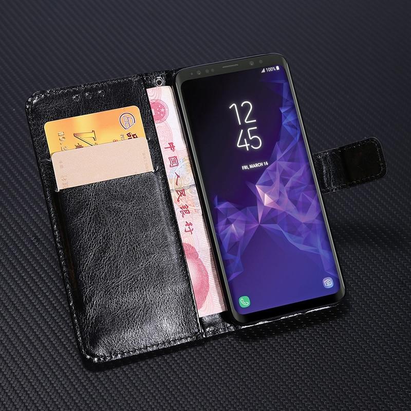 Роскошный кожаный чехол-кошелек для Samsung Galaxy J3 J5 J7 A3 A5 A7 2016 2017 A6 A8 J4 J6 J8 2018 Core Prime Мягкий мобильный телефон-4