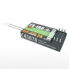 2.4GHz 6 Channels 140 Band 20dBm Receiver For FlySky FS-iA6 RC Airplane