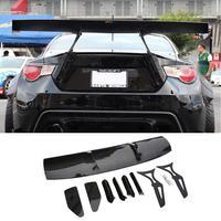 carbon fiber/Unpainted black Fiberglass Material G Style GT 86 BRZ Rear Trunk wing spoiler For Subaru BRZ Toyota 86 GT86