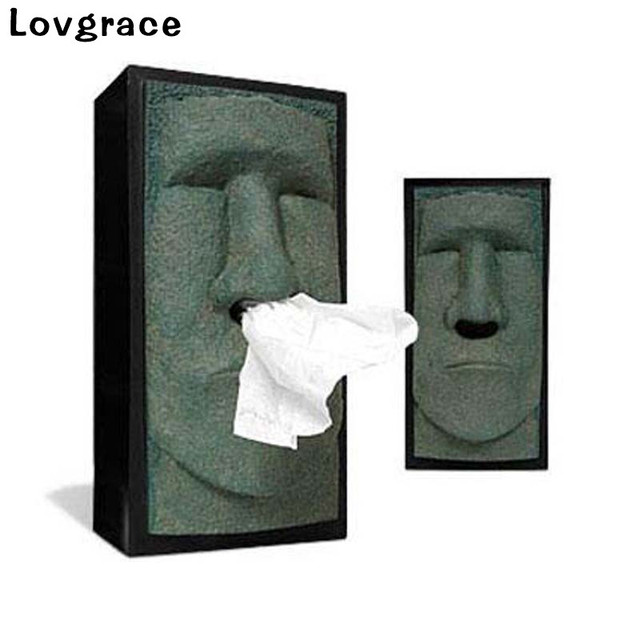 Creative Resin Tissue Box Duke Of England Napkin Case Pouch Party Decor Car Bedroom Dressers Night Stands Desks And Tables Gift