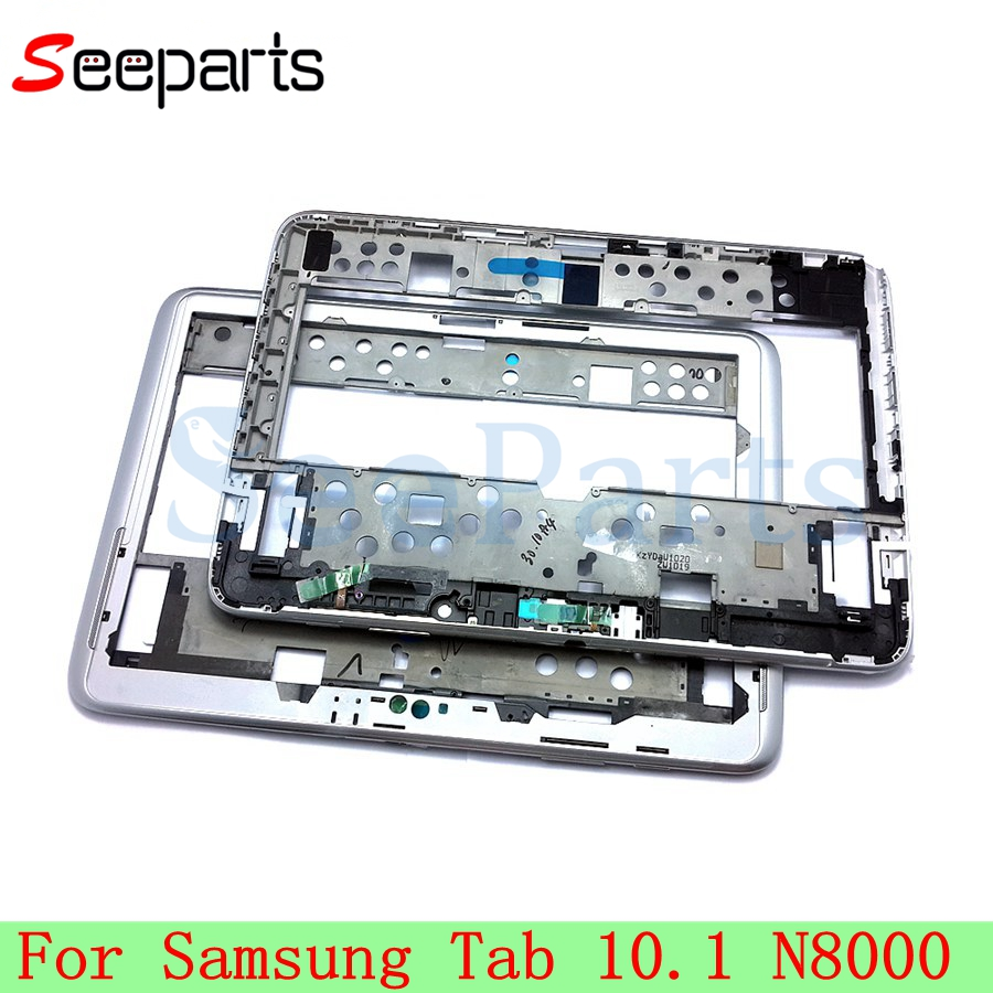 Middle Frame For Samsung Tab Note 10.1 N8000 Mid Frame Housing Bezel Repair Parts Replacement For SAMSUNG N8000 Middle Frame|Mobile Phone Housings & Frames| |  - title=