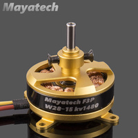Mayatech W2815 1480kv F3P Brushless Hollow Shaft Motor 3S/21g Ultralight 3D4D