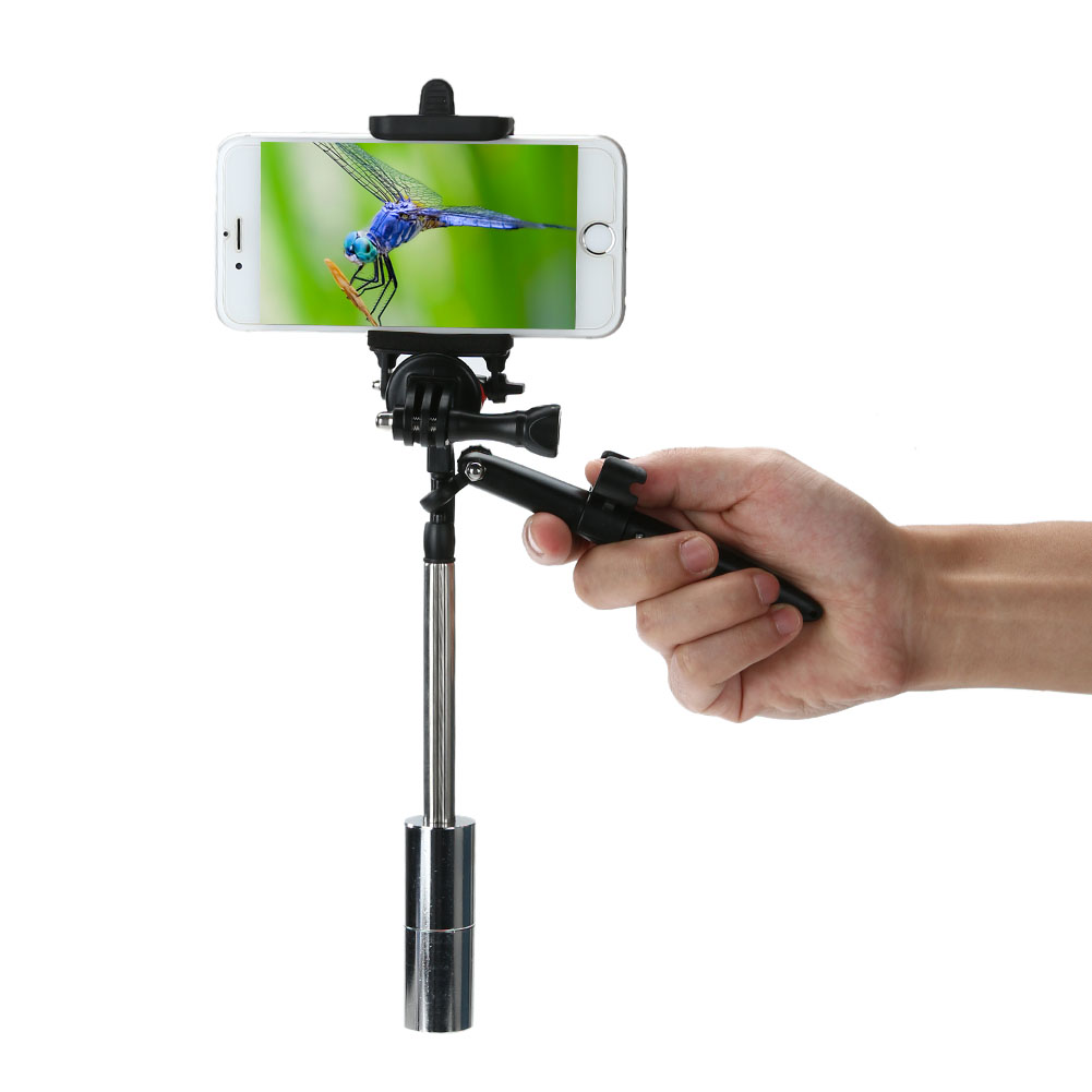 Portable Phone Handheld Stabilizer Holder Stand Stabilizer Sports Video Camera Stabilizer for Gopro Hero 5 or