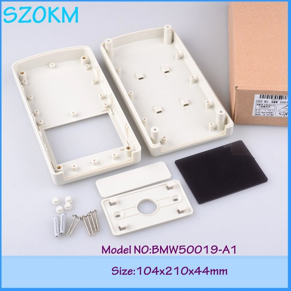 5 pcs/lot enclosures for electronics junction box abs case plastic box for electronic project 104x210x44mm 4pcs a lot diy plastic enclosure for electronic handheld led junction box abs housing control box waterproof case 238 134 50mm