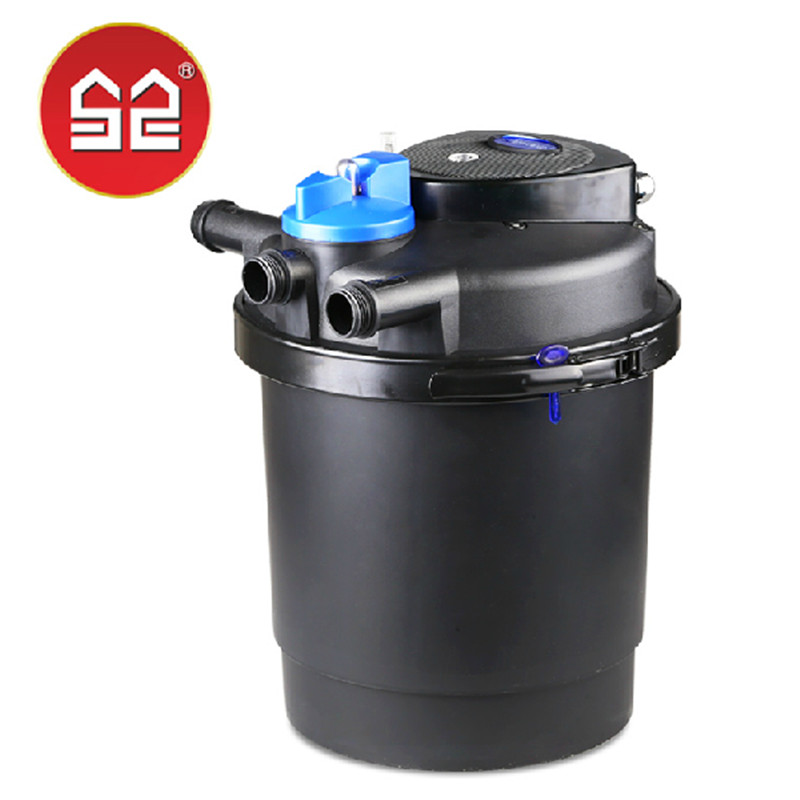 Sunsun cpf2500 small fish pond full filter system fish for Small pond filter