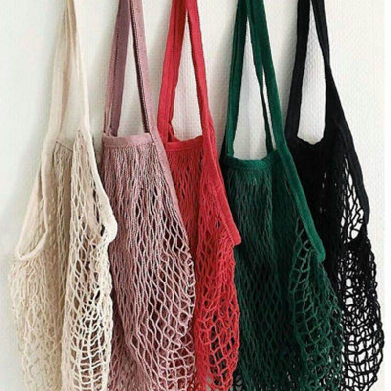 Litthing Brand 2018 New 1PC Reusable String Shopping Grocery Bag Shopper Tote Mesh Net Woven Cotton Bag Hand Totes Dropshipping подвесной светильник ice pithos