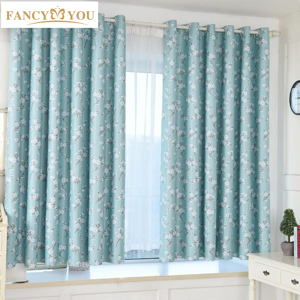 Blackout curtains window treatments modern green kapok for Green modern curtains