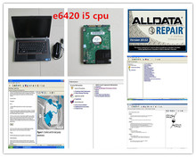 v10.53 alldata and mitchell software 2017 installed in laptop E6420 (i5 cpu) auto repair for car and truck data computer hdd 1tb(China (Mainland))