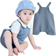Cute Baby Rompers Summer Newborn Clothes Infant Toddler Costumes Kids Jumpsuit Cotton Romper Photo Props