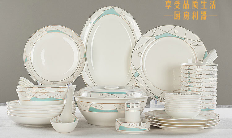gallery of pcslot real bone china dinner plate set modern painting ceramic bento with cheap china dinnerware sets & Cheap China Dinnerware Sets. Ceramics Pieces Quality Bone China ...