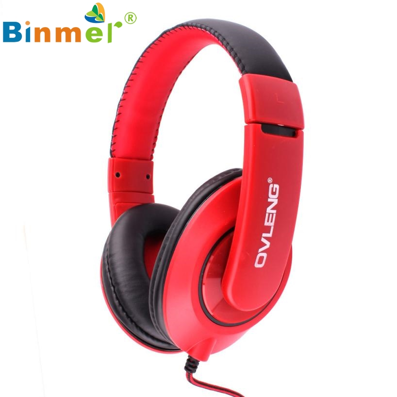 Beautiful Gift New Hot Original OVLENG X13 Adjustable Headphones MP3 Stereo Over Ear Earphones DJ NEW Jan27