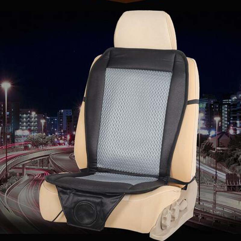 CarLiMo Cooling Car Seat Cushion Cover Ventilation Fan Summer Air Conditioning General Passat The Family In Automobiles Covers From