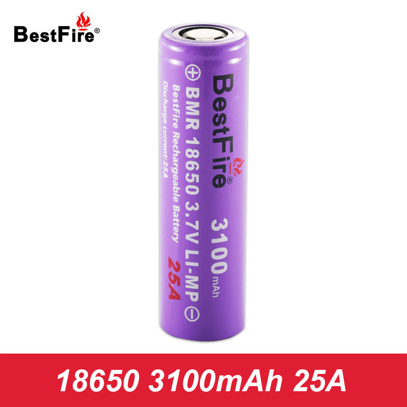 18650 Battery Bestfire Li-ion Bateria Lithium Rechargeable Battery 3100mAh 25A for SMOK Vape Mod E Cigarette Vaporizer A131
