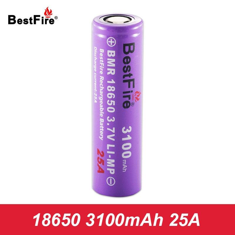 18650 Battery Bestfire Li-ion Bateria Lithium Rechargeable Battery 3100mAh 25A for SMOK Vape Mod E Cigarette Vaporizer A131