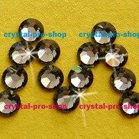 1440 Pieces Original Swarovski Elements Black Diamond 215 Hotfix Iron On Ss5 1 7 1 8mm