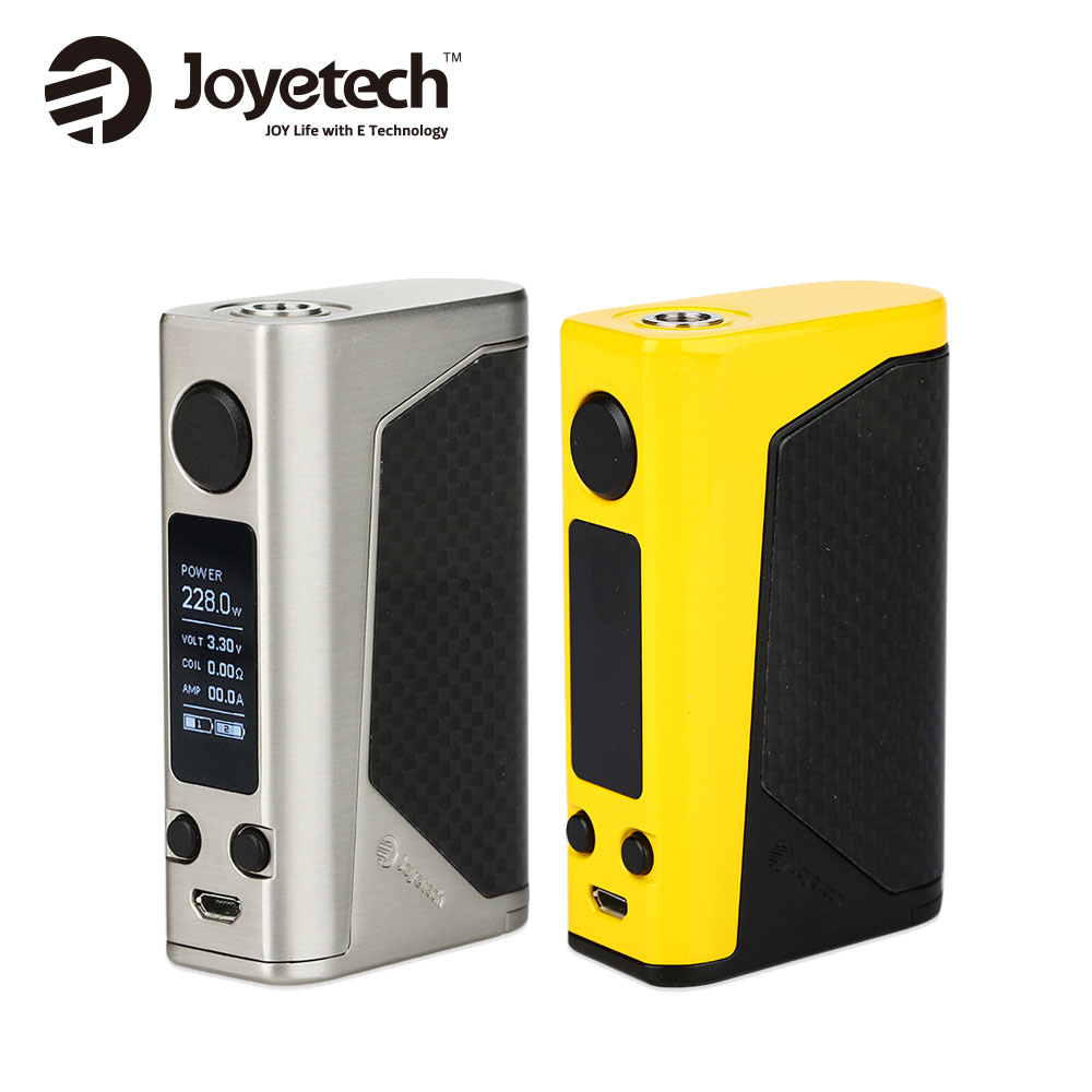 Original Joyetech eVic Primo 2.0 TC Mod 228W Huge Power Fit UNIMAX 2 / RTA RBA RDTA Tank Vape E Cig Primo Mod no 18650 battery