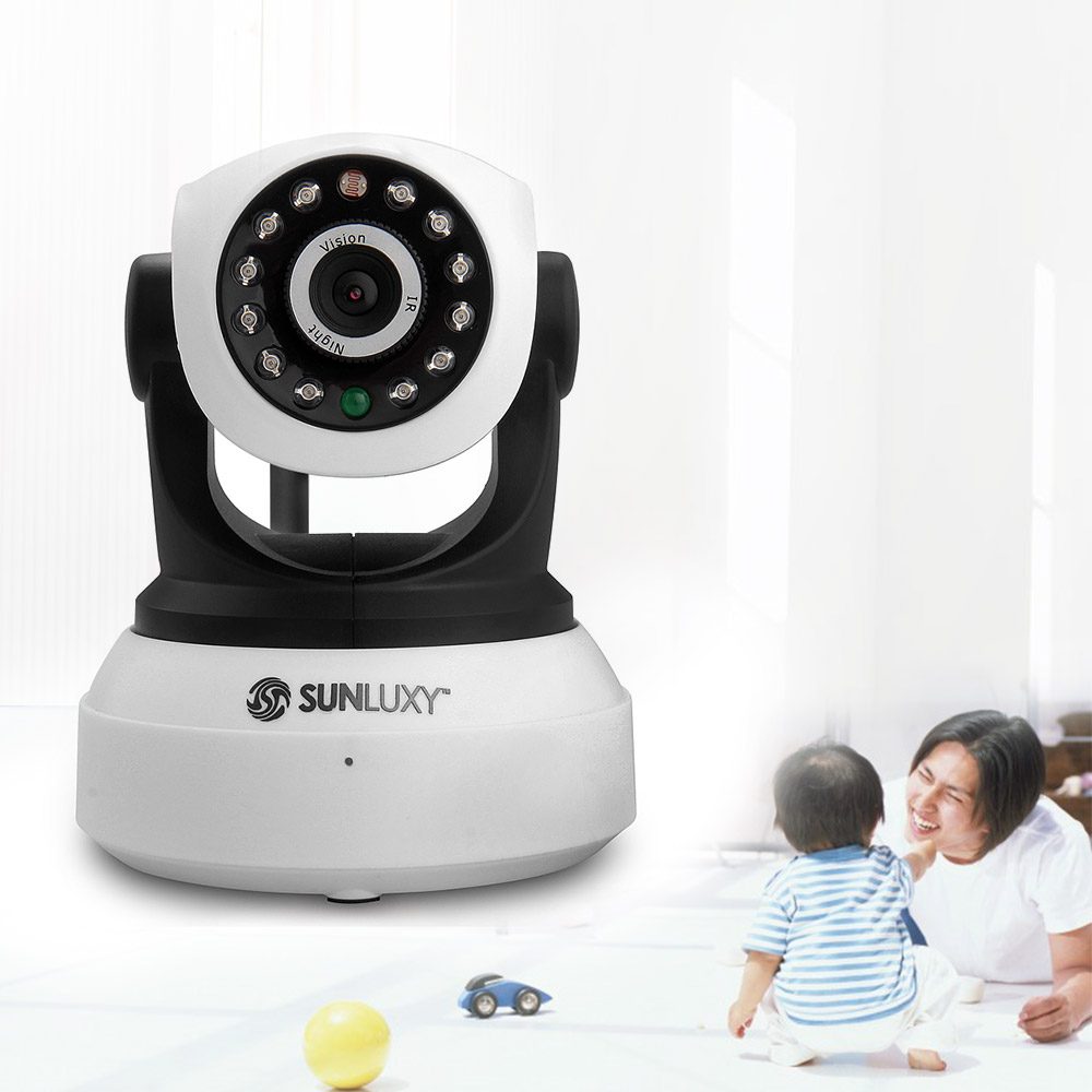 ФОТО SUNLUXY WiFi IP Camera 720P P2P IR Night Vision Babycam H.264 Onvif Wireless Network CCTV Camera Video Audio for Home Security