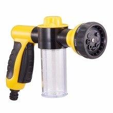 Çok fonksiyonlu köpük su tabancası araba temizleme aksesuarları yüksek basınçlı yıkayıcı püskürtücü kafa