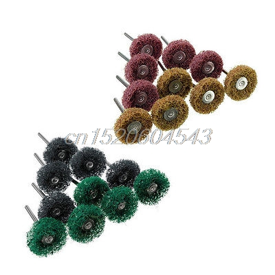 20Pcs Polishers Buffers Abrasive 1 Scotch Brite Wheels Fit For Dremel Mixed Set R06 Drop Ship gibson svp 700ul brite wires elect set 5 09 042