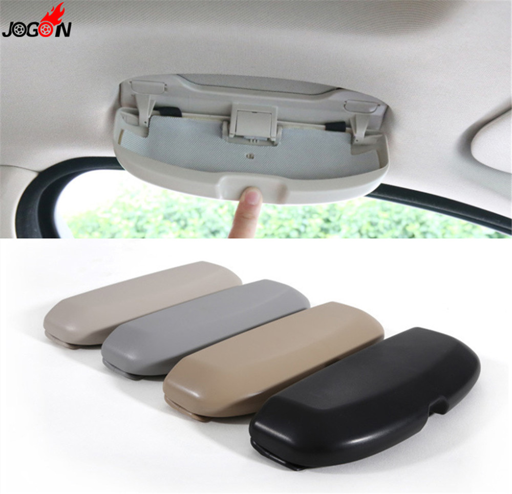 1pc Accessory Car Sun Glasses Storage Case Box For BMW 1 3 4 5 series X1 X3 X5