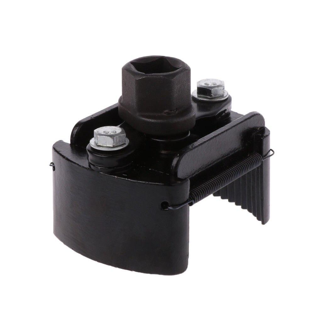 Üniversal 60-80mm ayarlanabilir yağ filtresi anahtarı fincan 1/2