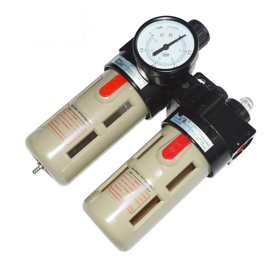 BFC4000 Air Source Treatment Unit Pneumatic Filter Regulator Lubricator Set 397 15 pneumatic air source treatment filter regulator
