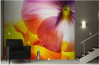 Custom papel DE parede floral, Large Multicolour Flowers Wall Mural to the bedroom TV Wall waterproof vinyl papel DE parede