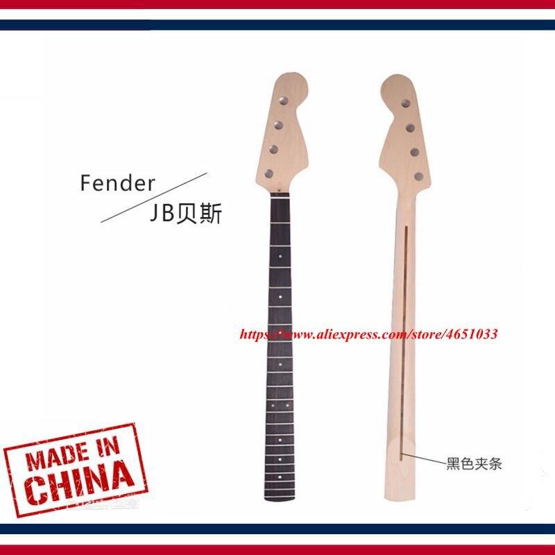 Accessoires de guitare pièces guitare électrique cou JB basse électrique érable xylophone cou palissandre touche, 21 Fret