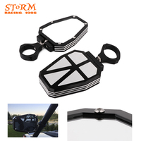 Motorcycle 1.75 Clamp Mount Rearview Mirror For Polaris UTV Ranger RZR 400 500 700 800 RZRs 570 800 900 1000 XP1000 XP4 RZR900
