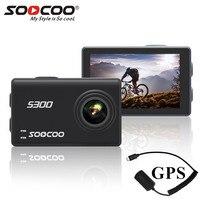Soocoo на S300 Экшн камера К 4 к 30FPS 2,35 сенсорный wifi микрофон gps микрофон Пульт дистанционного управления камера Спортивная камера К