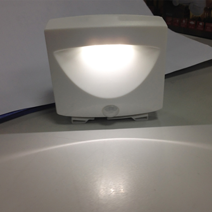 Lighting Basement Washroom Stairs: LED Motion Sensor Night Light For Basement Hallway