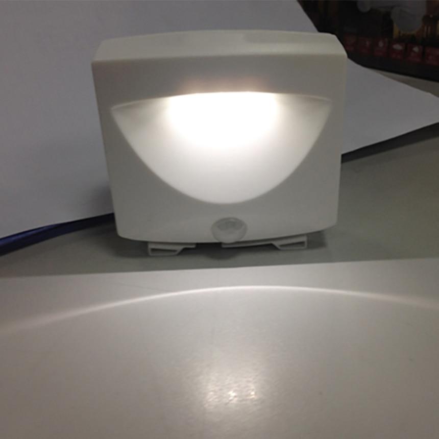 LED Motion Sensor Night Light For Basement Hallway