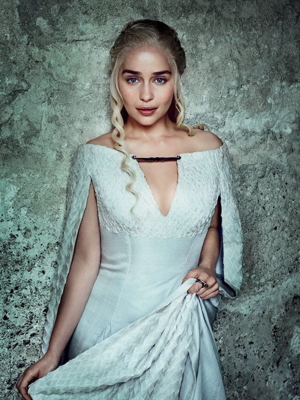 "MX09002 Emilia Clarke - English Actress Game Of Thrones 24""x32"" Poster"